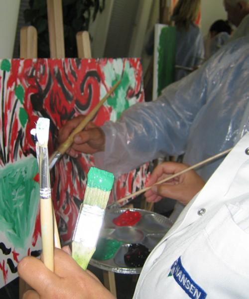 virksomheder, maling, kreativitet, udvikling