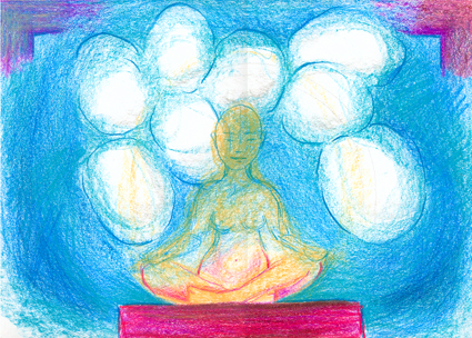 meditation, særligt sensitive, terapi, psykoterapi, tegneterapi, tegne-terapi